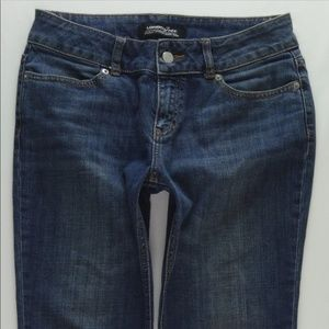 London Jeans Boot Cut Stretch Denim Women's 6 JD54